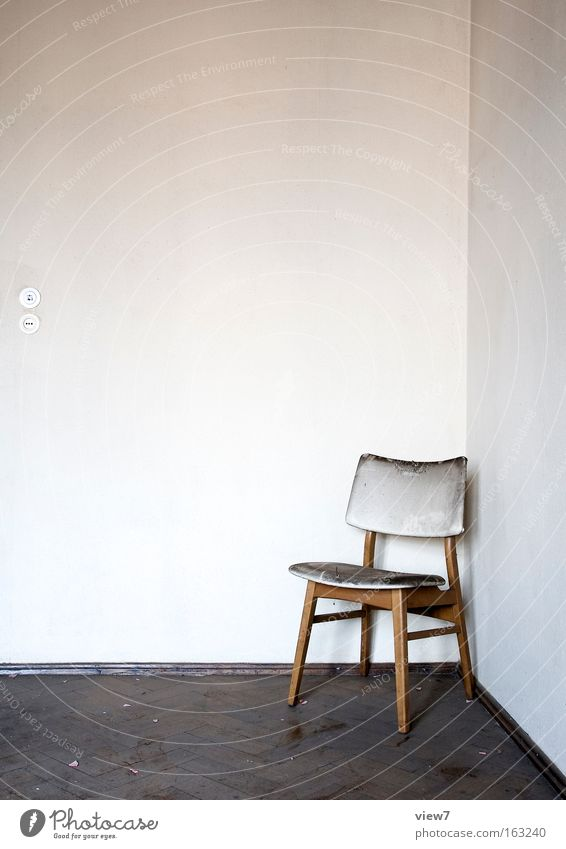 Old Wall (building) Wood Room Arrangement Corner Chair Furniture Plaster Obscure Seating Seat Forget Backrest Bolster Romanesque