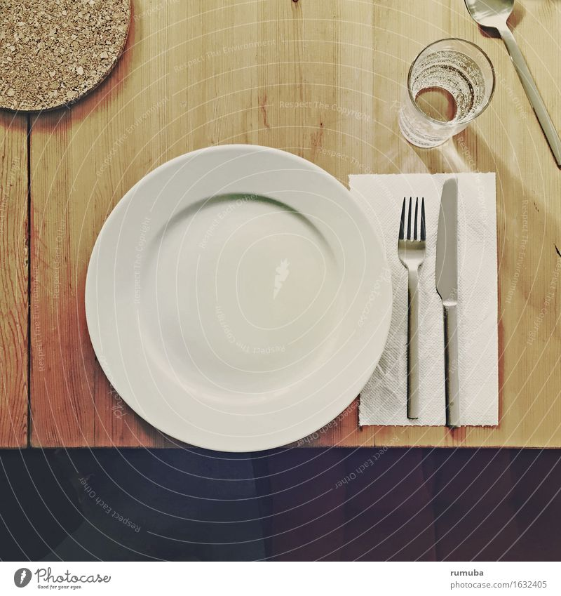 Eating Nutrition Glass Table Wait Round Drinking Appetite Crockery Plate Knives Expectation Cutlery Spoon Fork Refrain