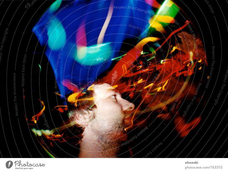 Joy Party Music Dance Disco Club Night life Fisheye Lighting effect Friday