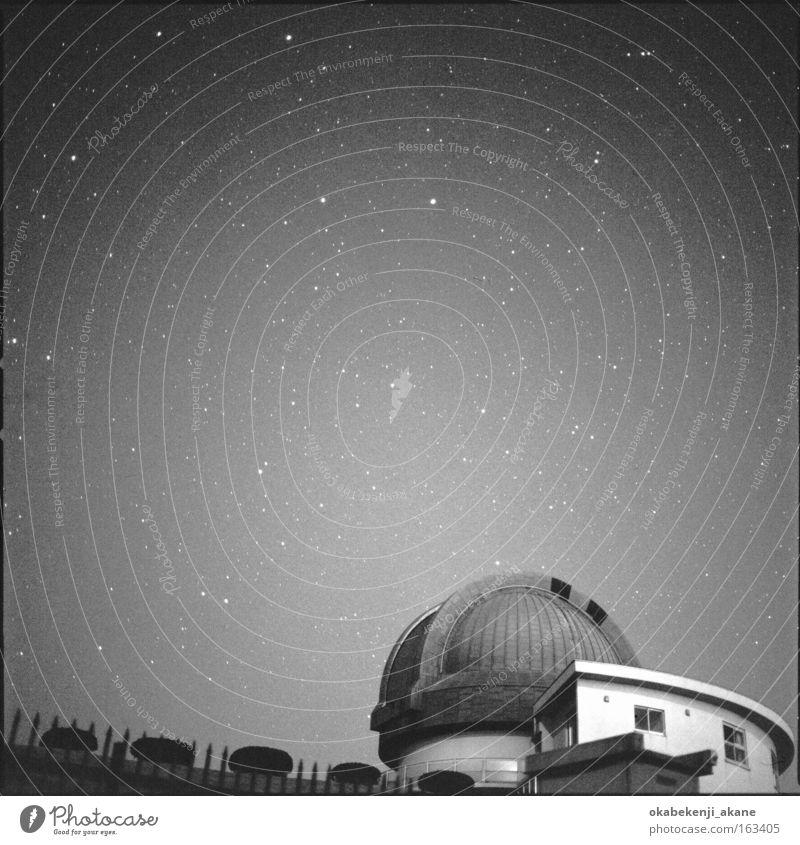 stars #7 Celestial bodies and the universe Stars Night Night sky Sky Square Hasselblad Winter Japan Black Starry sky