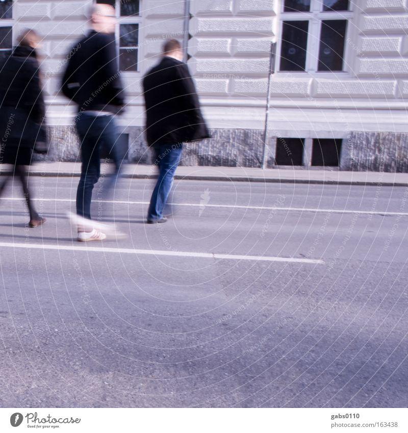 Human being City Street Movement Group Going Transport Asphalt Pedestrian Caution Traverse