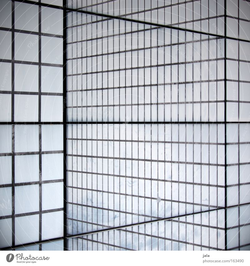 illusion of perception Discern Square Cube Line Pattern Black White Architecture Signs and labeling Black & white photo Irritation