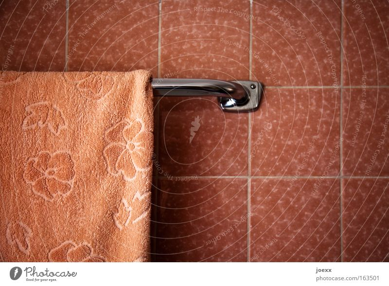 Old Beautiful Pink Living or residing Retro Soft Bathroom To hold on Historic Tile Well-being Personal hygiene Towel Spa