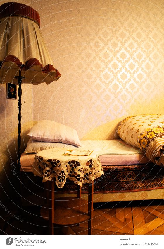 Beautiful Red House (Residential Structure) Yellow Style Lamp Brown Room Flat (apartment) Elegant Crazy Esthetic Natural Lifestyle Interior design Retro