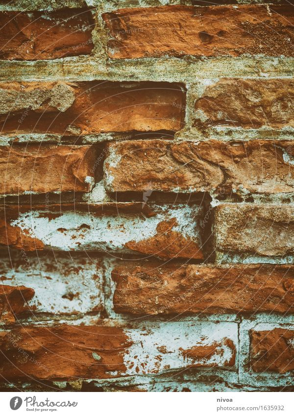 Brick 3 House (Residential Structure) Manmade structures Building Architecture Wall (barrier) Wall (building) Facade Line Lie Firm Brown Orange Red Agreed