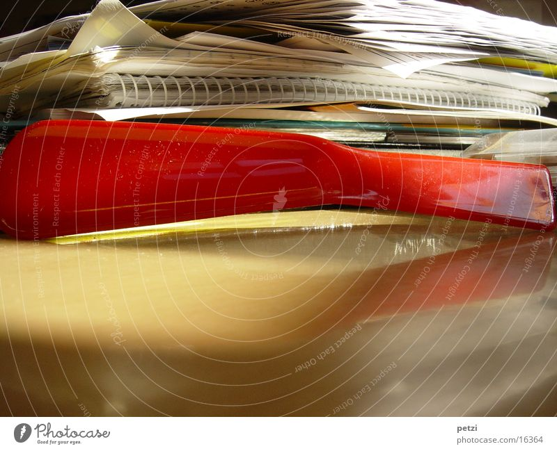 Red Table Paper Loose-leaf