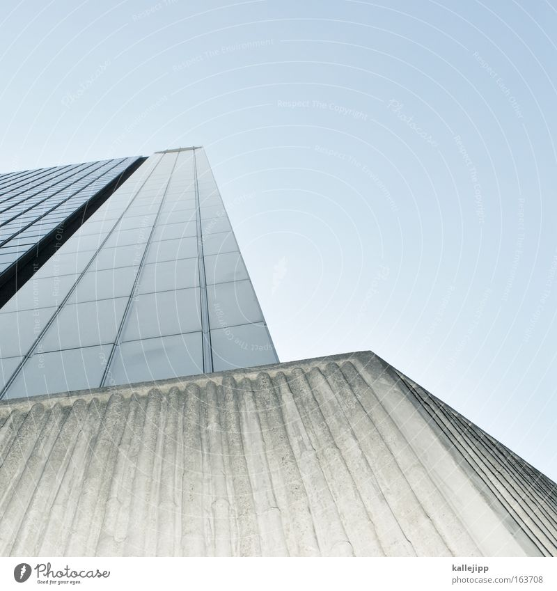 Sky City Architecture Building High-rise Story Grating Grid Section of image Tenant