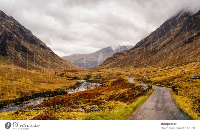 Glen Etive Vacation & Travel Tourism Trip Adventure Far-off places Expedition Snow Mountain Hiking Climbing Mountaineering Nature Landscape Plant Elements