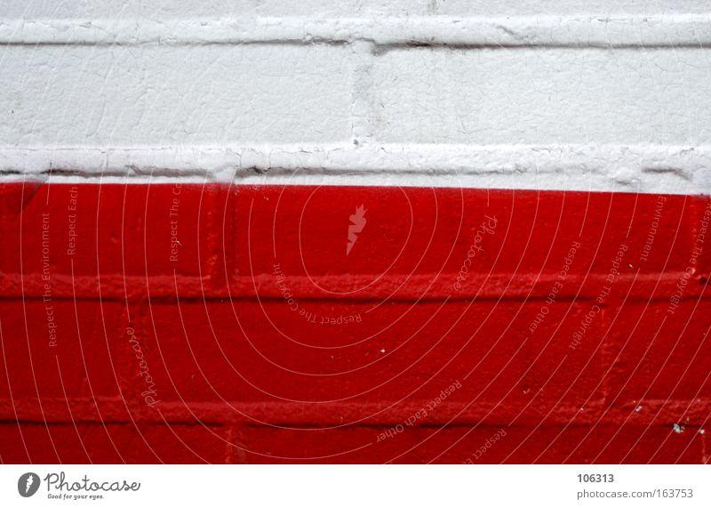 Photo number 117162 White Red Wall (building) obliquely Line Diagonal Brick Colour Tilt