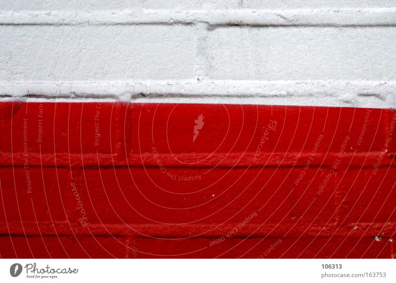 White Red Wall (building) Line Brick Diagonal