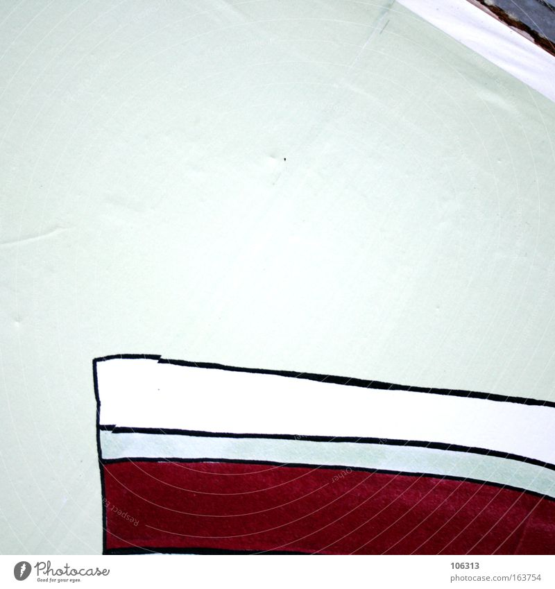 Photo number 117173 Line Red White Free space Structures and shapes Graphic Wild drawing Abstract Detail