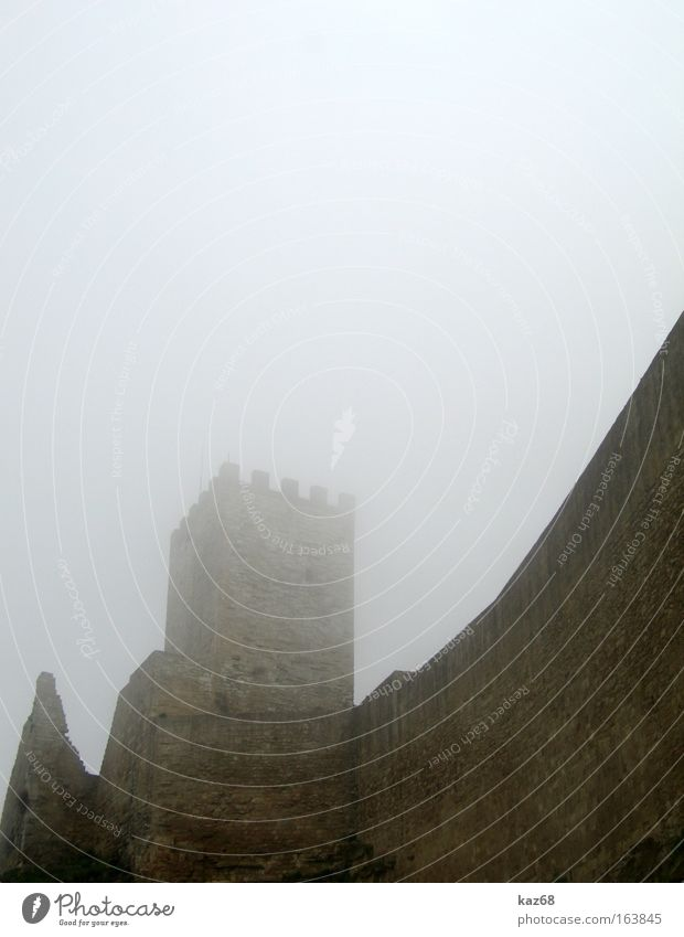 Dark Cold Autumn Wall (barrier) Rain Brown Fear Fog Wind Tower Italy Creepy Castle Damp Ruin Ghosts & Spectres