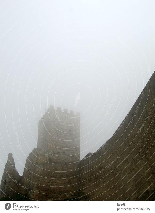 Dark Cold Autumn Wall (barrier) Rain Brown Fear Fog Wind Tower Italy Creepy Castle Damp Ruin Ghosts & Spectres