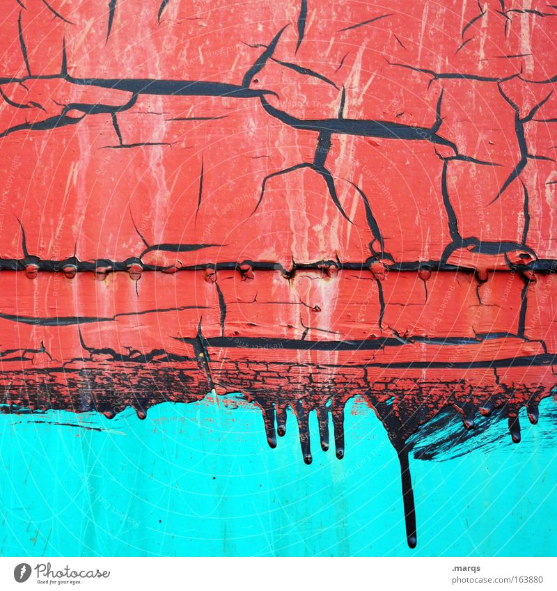 Old Blue Red Black Metal Background picture Change Decline Turquoise Whimsical Progress Varnish Painted Welding seam Bright Colours