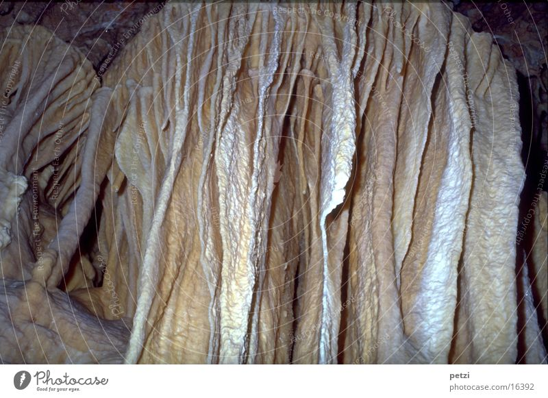 stalactite formations Nature Exceptional Fantastic Beautiful Surprise Cave Stalactite Sediment Colour Guide galactites Colour photo Interior shot Long shot