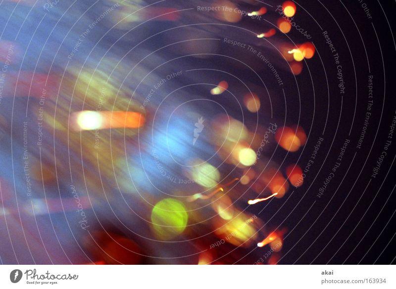 Green Blue Red Joy Black Stripe Light Visual spectacle Exposure Fiber optics Fiber optic lamp Lighting effect UFO lamp TV lamp Optical fiber