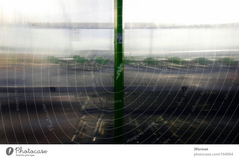 Glass Wait Stand Plastic Transparent Parking Parking garage Queue Column Acrylic