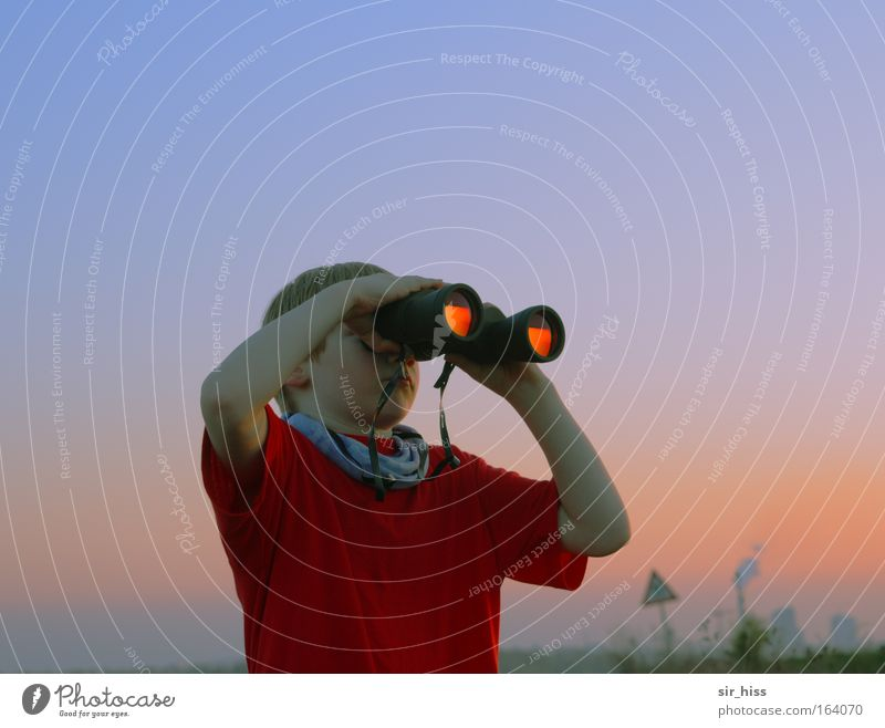 Nature Glittering Environment Violet Curiosity Infancy Binoculars Telescope