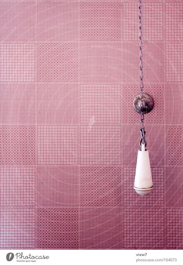 Old Loneliness Design Elegant Retro Break Change Violet Decoration Toilet Interior design Wallpaper Chain Toilet paper Knob