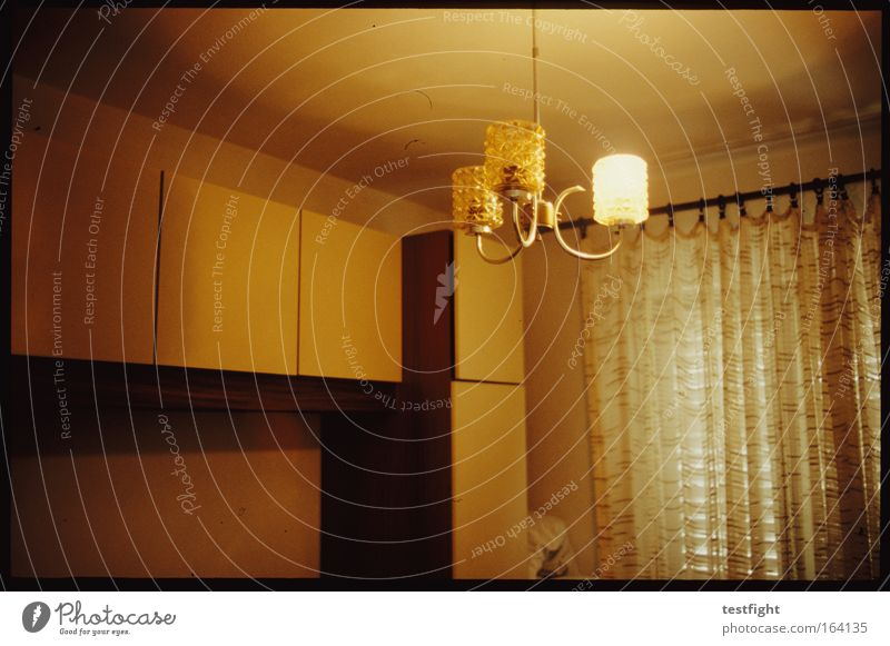 Old House (Residential Structure) Lamp Wood Room Flat (apartment) Safety Retro Gloomy Authentic Simple Protection Living or residing Interior design