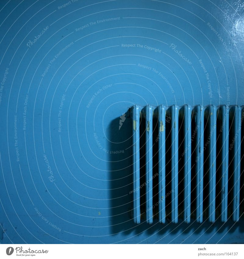 Blue Old Cold Wall (building) Warmth Facade Energy industry Fire Derelict Hot Decline Ruin Heater Redecorate Heating