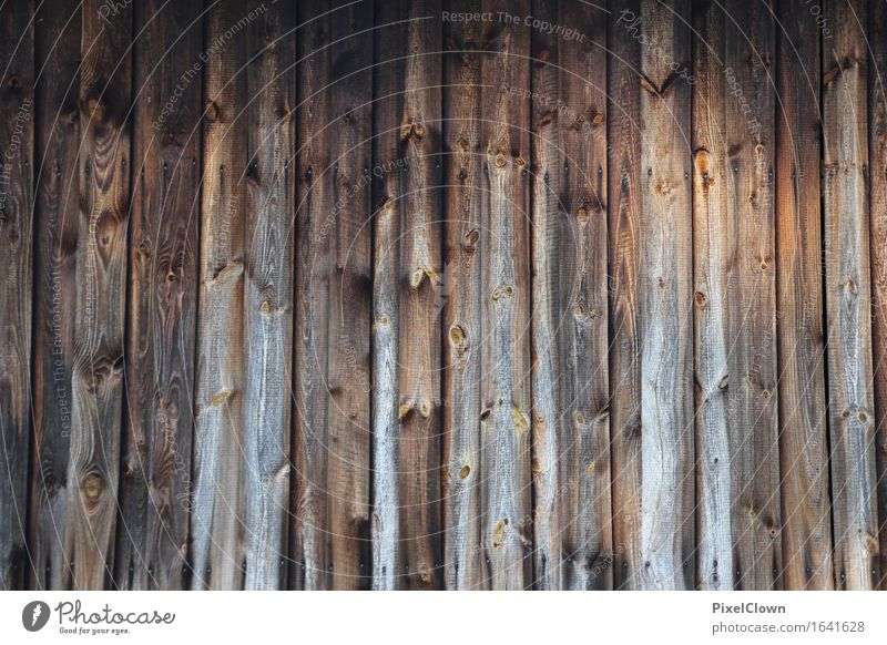 board wall Style Living or residing Garden Agriculture Forestry Craft (trade) Construction site Village Wall (barrier) Wall (building) Facade Wood Build Brown