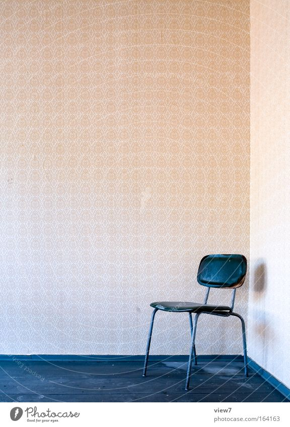 Old Relaxation Wood Dream Room Dirty Flat (apartment) Esthetic Gloomy Chair Authentic Simple Uniqueness Interior design Serene Wallpaper