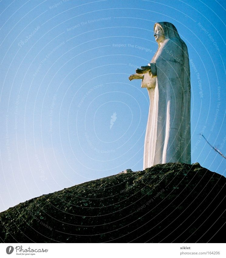 fátima Blue White Death Religion and faith Sadness Crucifix Portugal Christianity Christian cross