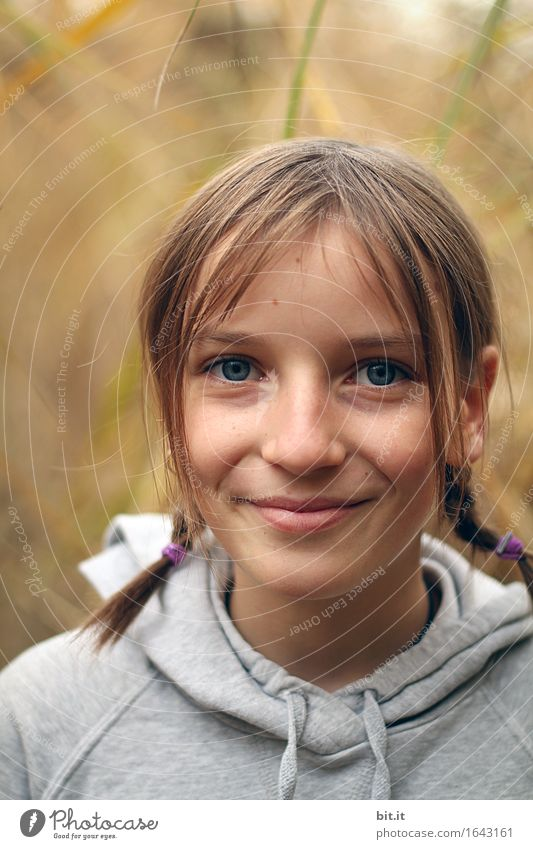 smile Vacation & Travel Parenting School Schoolyard Human being Feminine Child girl Family & Relations Nature luck Contentment Charming Colour photo Day Looking