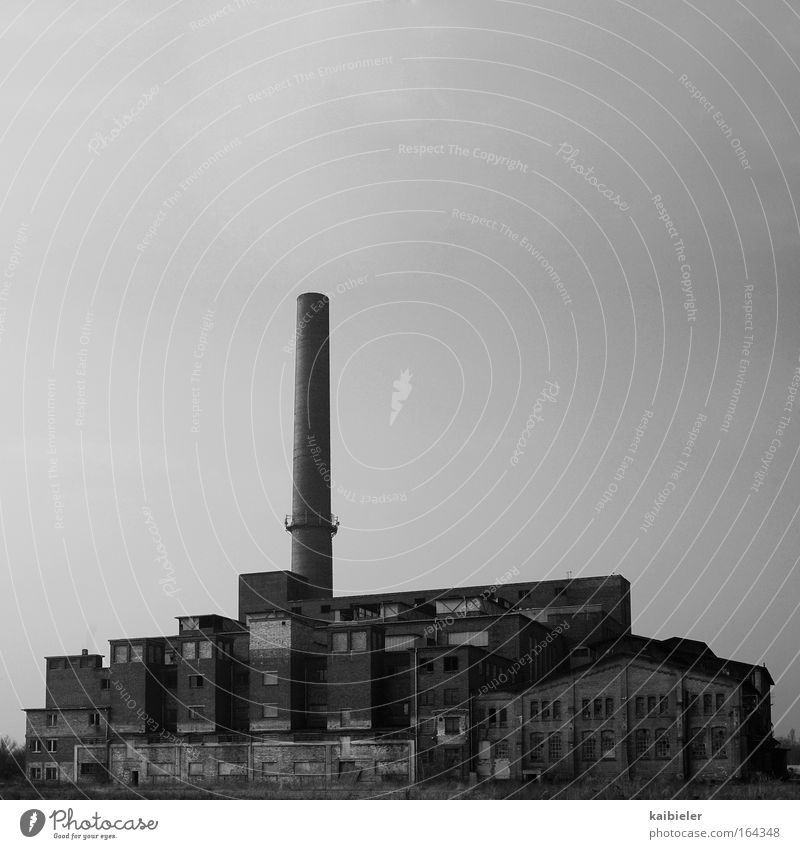Old Gray Sadness Building Going Industry Factory Change Transience Decline Past Chimney Nostalgia Pipeline Industrial plant Environmental pollution