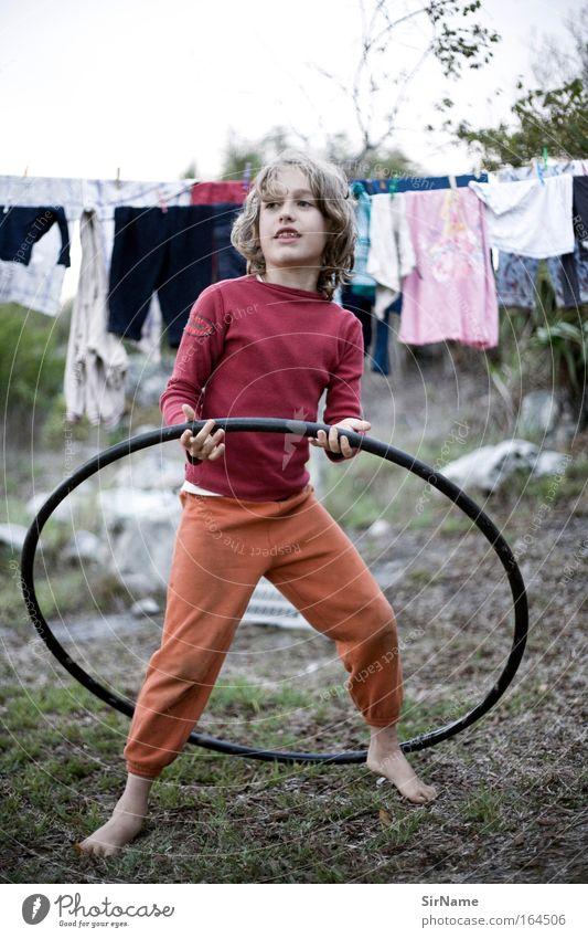Child Youth (Young adults) Beautiful Life Playing Movement Boy (child) Happy Natural Infancy Blonde Dance Contentment Poverty Smiling Stand