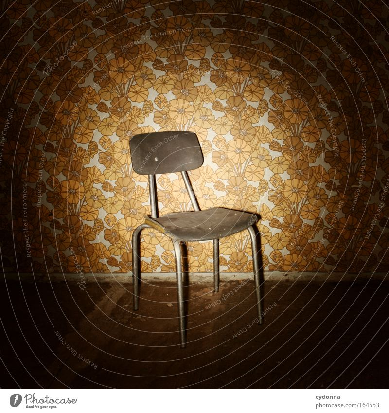 Time Power Fear Design Esthetic Success Living or residing Safety Might Retro Chair Transience Culture Education Curiosity Creativity