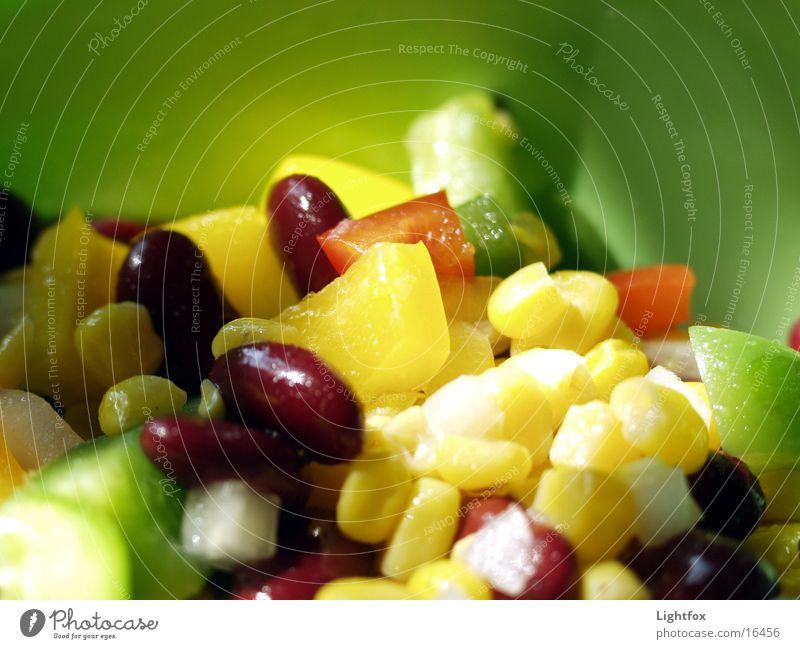 Green Nutrition Colour Healthy Food Vegetable Delicious Tin Bowl Lettuce Maize Onion Calorie Vinegar Tupperware