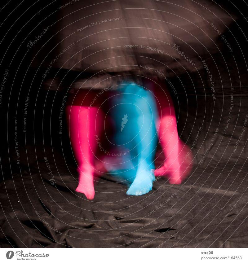 Woman Human being Blue Joy Black Adults Feminine Legs Feet Feasts & Celebrations Dance Pink Wild Speed Happiness Crazy