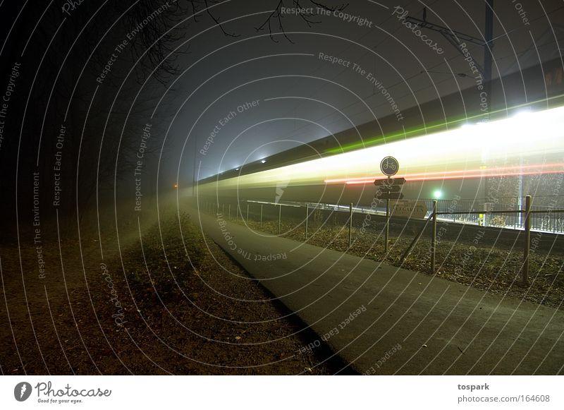 Vacation & Travel Colour Line Power Environment Time Railroad Speed Perspective Driving Logistics Target Stripe Railroad tracks Illuminate