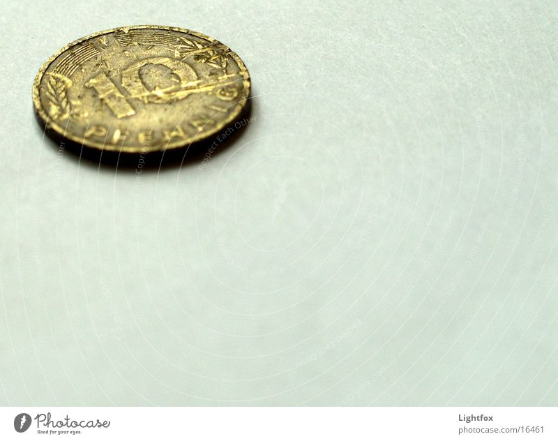 Germany Money Broken Past Euro Historic Coin What a pity German penny