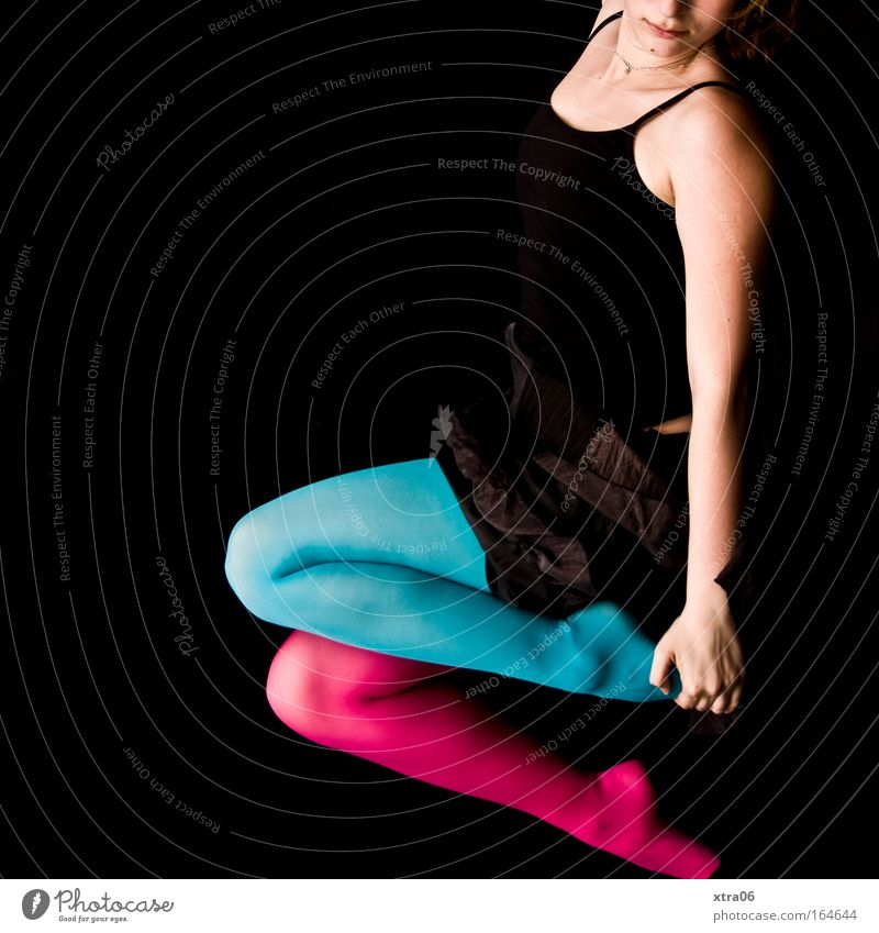 Human being Woman Youth (Young adults) Blue Hand Black Adults Relaxation Feminine Style Legs Feet Pink Arm Skin Mouth