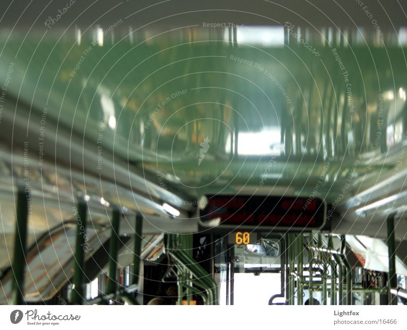 bus ceiling Driving Acrylic Transport To hold on Bus Logistics Human being Above Digital photography mirror glass Railroad Interior shot