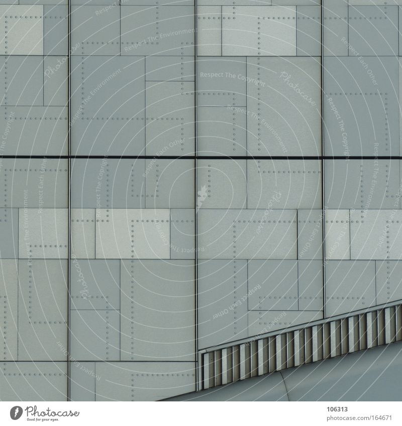 Photo number 119566 Architecture Wall (barrier) Wall (building) Line Exceptional Gray structure Illustration Image dotted division right angle Stairs Comic Dull