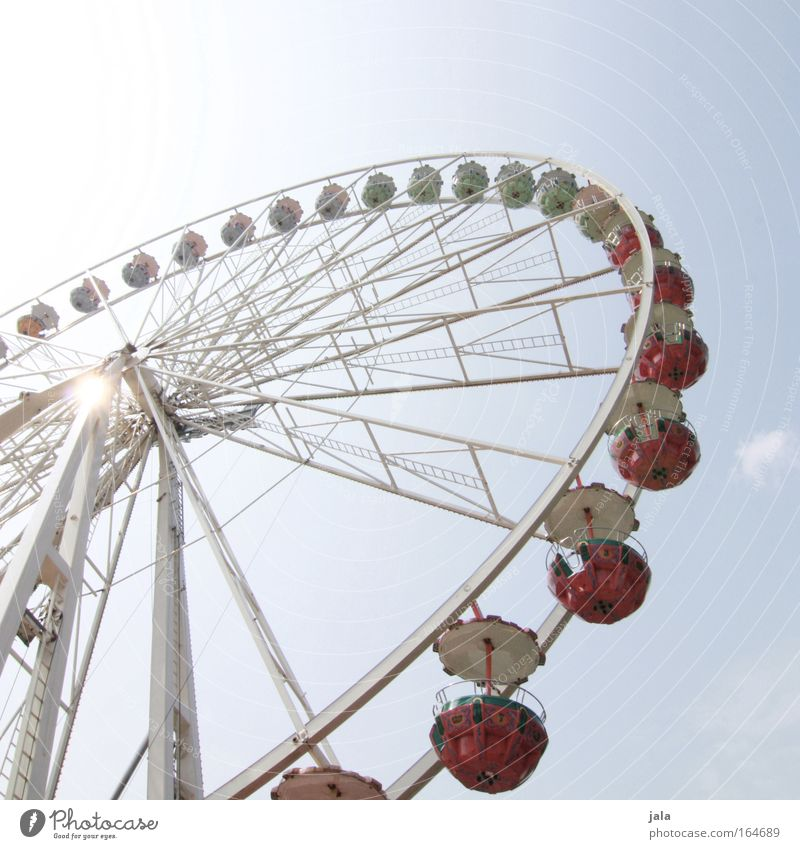 Blue Joy Playing Happy Large Lifestyle Happiness Romance Event Fairs & Carnivals Ferris wheel Vertigo Gigantic Theme-park rides