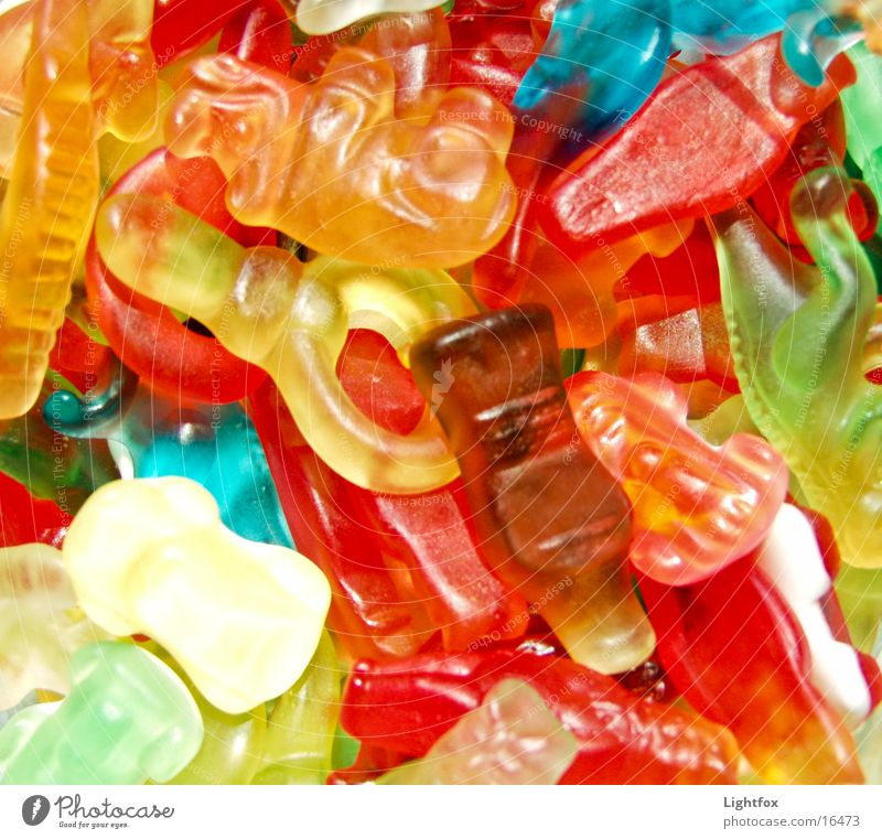 Nutrition Sweet Candy Fat Delicious Rubber Gummy bears Calorie Fatty food