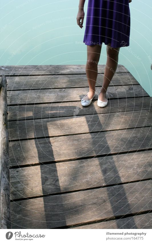 Woman Human being Youth (Young adults) Water Summer Feminine Style Feet Lake Footwear Legs Contentment Moody Coast Waves Adults
