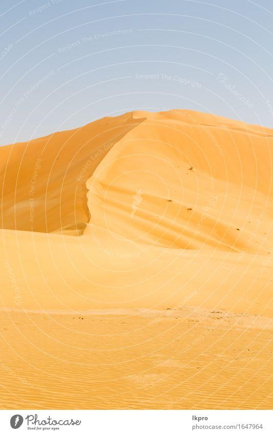 sand dune in oman old desert rub al khali Beautiful Vacation & Travel Tourism Adventure Safari Summer Sun Nature Landscape Sand Sky Horizon Park Hill Rock Stone
