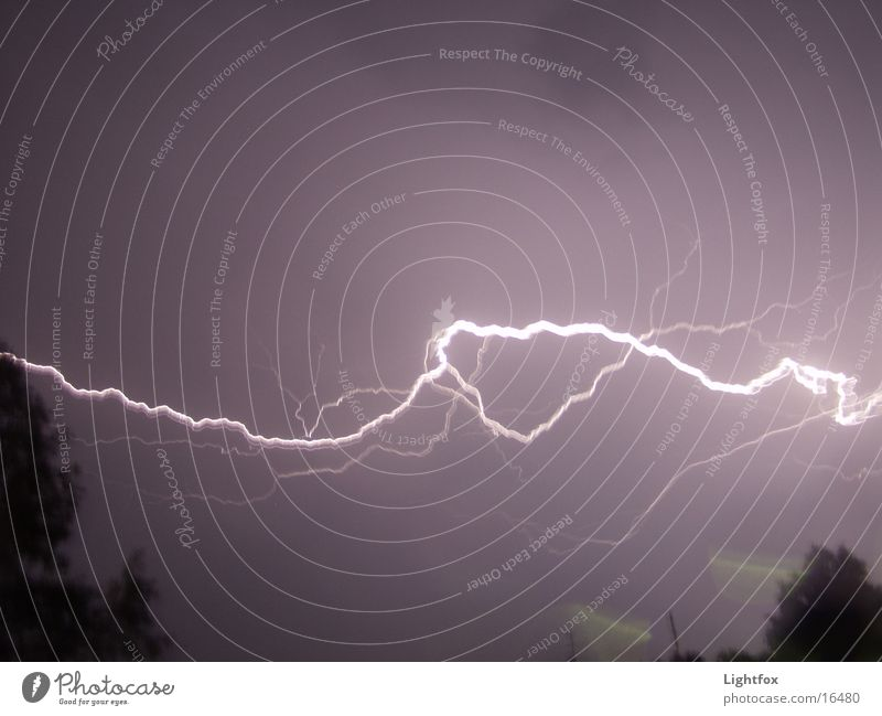Nature Bright Weather Energy industry Electricity Lightning Thunder and lightning Storm Flashy Thunder Fidget