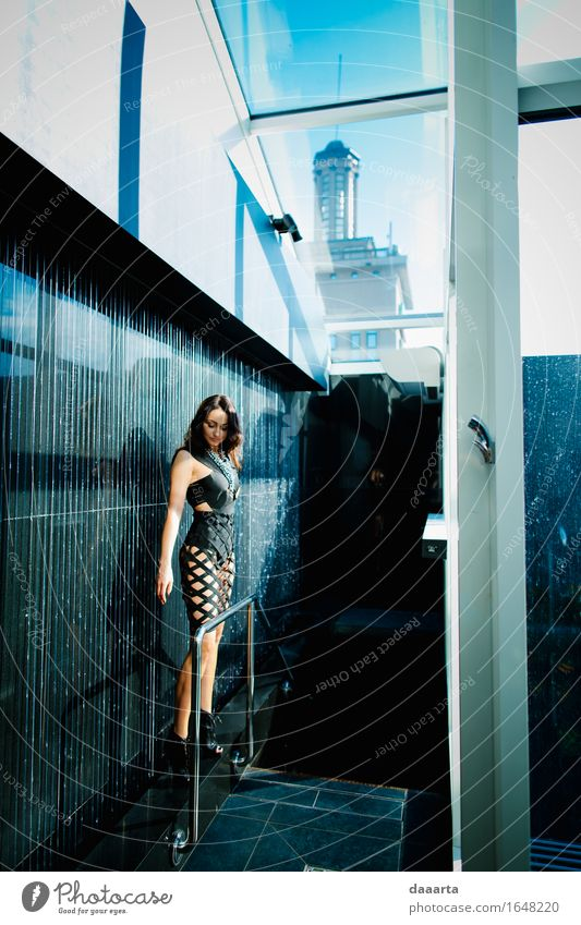 one in a building Beautiful Eroticism House (Residential Structure) Joy Window Life Emotions Feminine Style Lifestyle Freedom Moody Design Wild