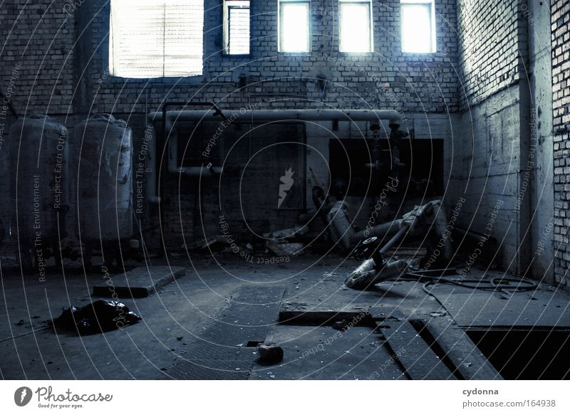 Life Window Wall (building) Wall (barrier) Sadness Dream Time Future Planning Hope Change Technology Transience Protection Factory Longing