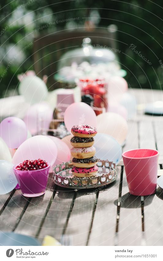 children's birthday party Food Dough Baked goods Dessert Ice cream Candy Chocolate Donut Fat To have a coffee Diet Mug Lifestyle Leisure and hobbies