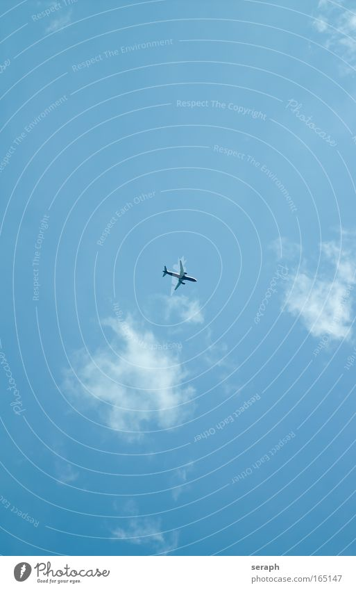 Jet airplane jet Transport aviater boing flight Clouds Freedom space Altimeter Wide angle Cumulus Weather Far-off places Simple Passenger plane