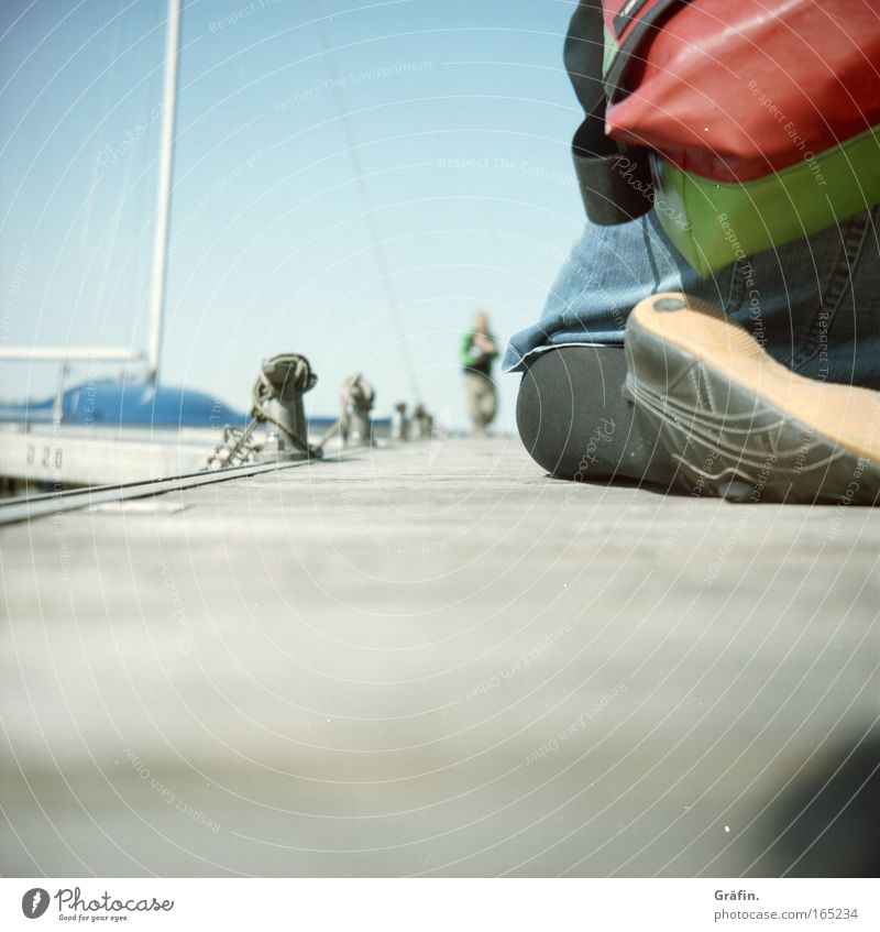 Sky Legs Feet Watercraft Back Footwear Skirt Sailing Footbridge Sneakers Bag Sailboat Lomography Kneel Pontoon
