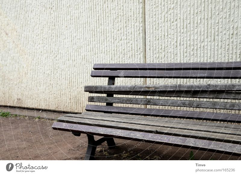 Old Loneliness Relaxation Wall (building) Wood Sadness Wall (barrier) Bench Broken Transience Decline Seating Feeble Crisis Weathered Uncomfortable